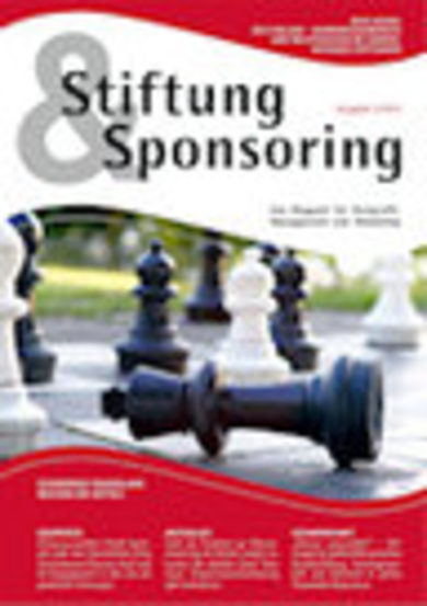 Cover Stiftung Sponsoring