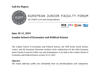 Call for Papers 2019 EJFF