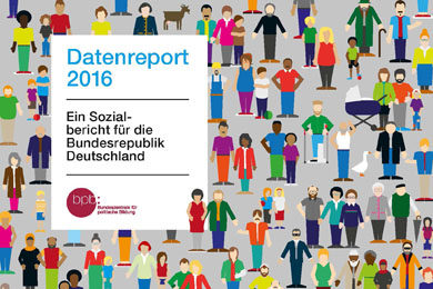 Cover Datenreport 2016